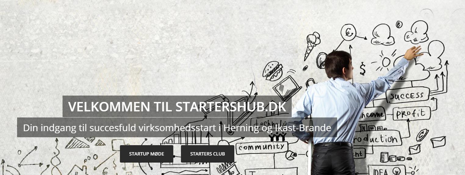 StartersHub: Nyt Iværksætter-website Fra Erhvervsrådet I Herning Og Ikast-Brande
